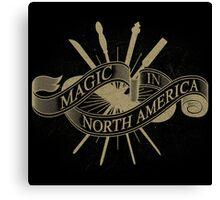 Magic in North America Canvas Print