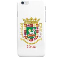 Cruz Shield of Puerto Rico iPhone Case/Skin
