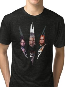 Witcher Characters Tri-blend T-Shirt