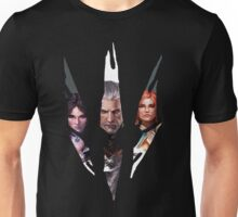 Witcher Characters Unisex T-Shirt