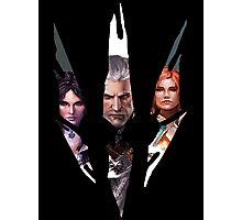 Witcher Characters Photographic Print