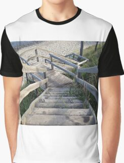 Staircase to the waters edge Graphic T-Shirt