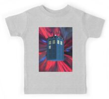 Doctor Blue Box Kids Tee