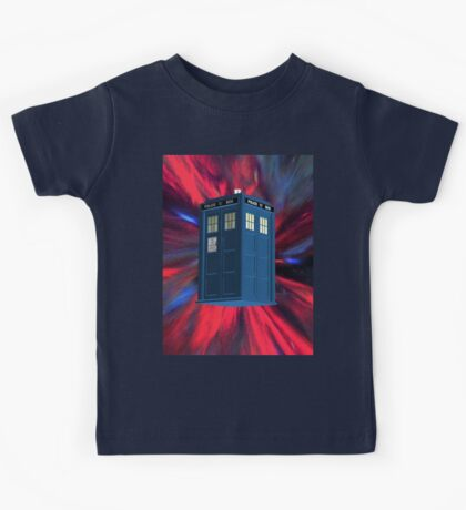 Doctor Blue Box Kids Tee