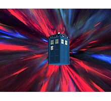 Doctor Blue Box Photographic Print