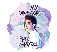 My Overdose Chanyeol Photographic Print