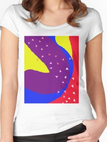 Playful  design by Moma Women's Fitted Scoop T-Shirt