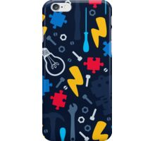 Young Engineer - blue jeans iPhone Case/Skin