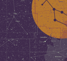 GEMINI Star Map Sticker
