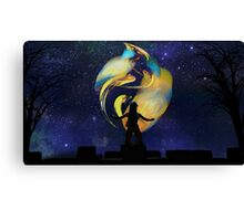 In Awe Of Colour Canvas Print