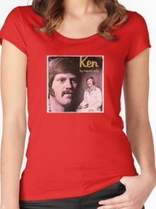 Vinyl Record Cover - Ken Women's Fitted Scoop T-Shirt
