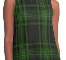 01118 Verdon Fashion Tartan  Contrast Tank