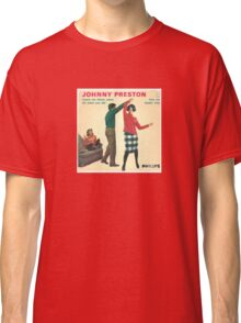 Vinyl Record Cover - Johnny Preston Classic T-Shirt