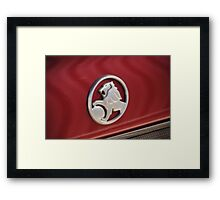 Holden Badge Framed Print