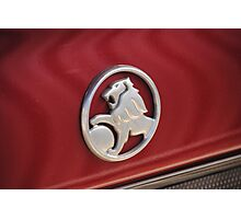 Holden Badge Photographic Print