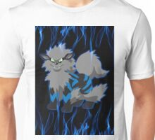 Blue Flame Arcanine Unisex T-Shirt
