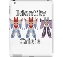 Starscream Identity Crisis iPad Case/Skin