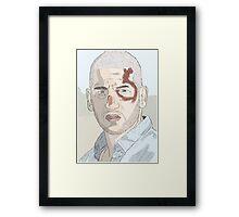 Shane TWD Framed Print