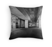 Slovenia Underpass Throw Pillow