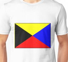 Letter Z Flag Unisex T-Shirt