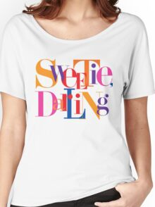 Absolutely Fabulous - Sweetie, Darling Women's Relaxed Fit T-Shirt
