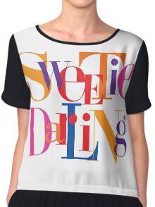 Absolutely Fabulous - Sweetie, Darling Chiffon Top