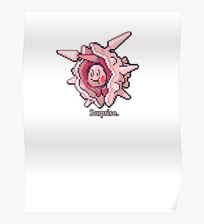 Mr. Mime Surprise Poster