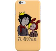 Fionna and Marshall Lee (King and Lionheart) iPhone Case/Skin