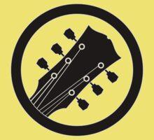 Electric guitar (black) Kids Tee
