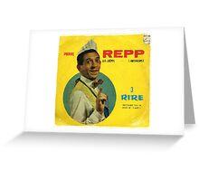 Vinyl Record Cover - REPP Greeting Card
