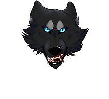 Werewolf Head Photographic Print