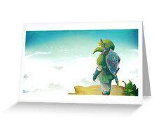 Skyward Sword! Greeting Card