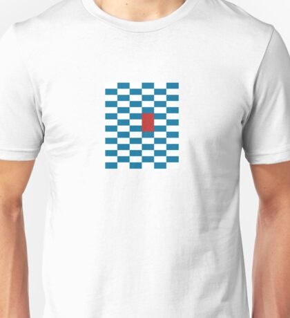 Red Stripe - Pixel Field Series Unisex T-Shirt