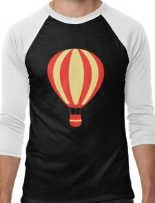 Classic Red and Yellow Hot air Balloon Men's Baseball ¾ T-Shirt