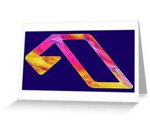 Anjunabeats Colors  Greeting Card