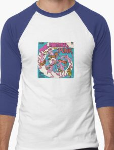 Vinyl Record Cover - Pink Panther Men's Baseball ¾ T-Shirt