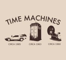 Time Machine Through Time by WCGross