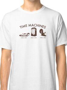 Time Machine Through Time Classic T-Shirt