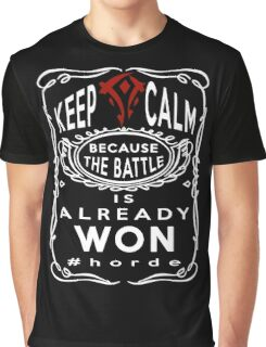 Warcraft - Keep Calm Horde Graphic T-Shirt