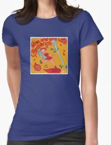 Vinyl Record Cover - Toothbrush  Womens Fitted T-Shirt