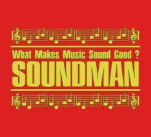 Wonderful Soundman Yellow Baby Tee