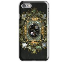 Mother Of Pearl Antique Book Cover Design iPhone Case/Skin