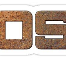 Rusty boss Sticker
