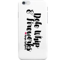 Dole Whip and Fireworks iPhone Case/Skin