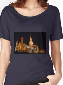 HDR- Old CHURCH Women's Relaxed Fit T-Shirt