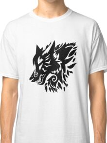 Tribal wolf  Classic T-Shirt