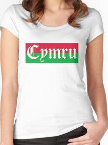 old cymru (wales) Women's Fitted Scoop T-Shirt