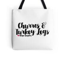 Churros and Turkey Legs Tote Bag