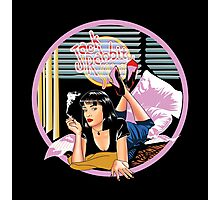 Pulp Fiction - Pink Mia@Jack Rabbits Variant Photographic Print