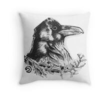Raven's Call Throw Pillow